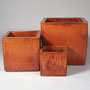 CUBE PLANTER - COPPER