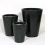 CRUCIBLE PLANTER - BLACK