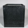 SQUARE PLANTER LARGE - BLACK
