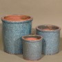 RUSTIC CYLINDER - GREEN
